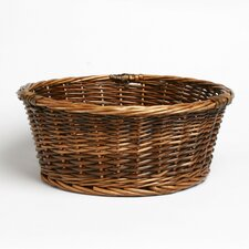 Natural Home Willow Round Serving Basket