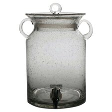 Entertaining Vintage Glass Jar Drink Beverage Dispenser