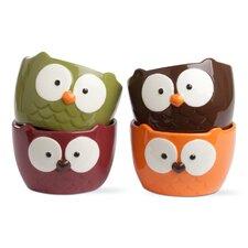 Owl 20 oz. Bowl (Set of 4)