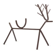 Woodland Reindeer Wine Bottle Holder