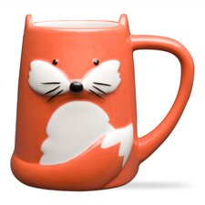 Foxy Tail Ceramic Mug (Set of 2)