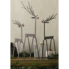 Woodlands Reindeer (Set of 3)
