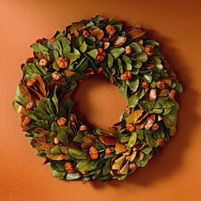 Foxy Fall Mini Pumpkin Wreath