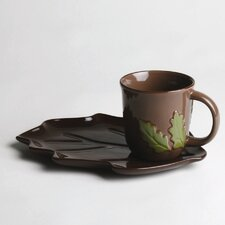Foxy Fall 12 oz. Leaf Sandwich Set