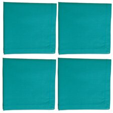 Basic Textiles Hemstitch Solid Napkin (Set of 4)