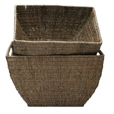 Baskets Seagrass Deep Basket (Set of 2)