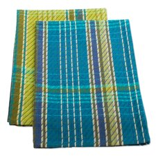 Amanda Plaid Dish Towel (Set of 2)