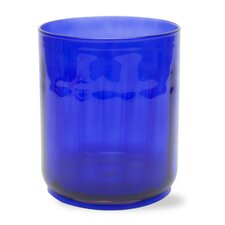 Cobalt Glass Hurricane