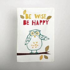 Owl Dishtowel