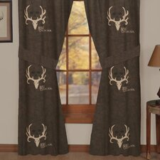 Lined Rod Pocket Drape Panel (Set of 2)