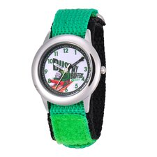 Kid's Stainless Steel Time Teacher Watch