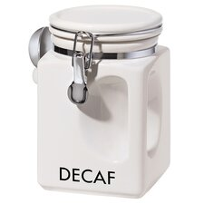 EZ Grip Decaf Coffee Canister