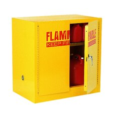 "35"" H x 35"" W x 22"" D Compact Flammable Safety Storage Cabinet"