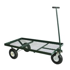 3 Wheel Steel Flat Wagon