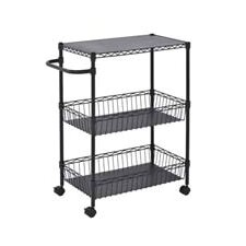 "Mobile 34"" Wire Cart"