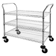 "Mobile 38"" Wire Carts"