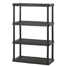 Plastic 4 Shelf Shelving