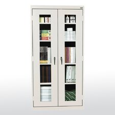 "Clear View 36"" Storage Cabinet"