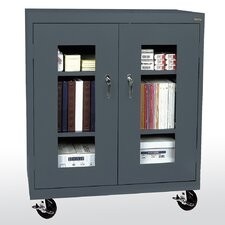 """Transport Clear View 46"""" Storage Cabinet"""
