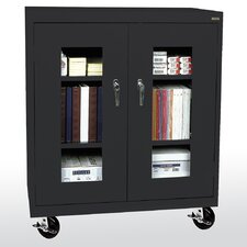 "Transport Clear View 36"" Storage Cabinet"