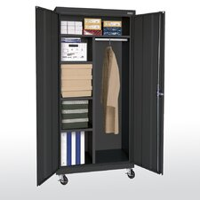 "Transport 46"" Mobile Combination Wardrobe Cabinet"