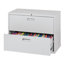 600 Series 2-Drawers  File Cabinets