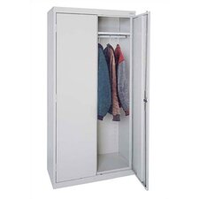 <strong>Sandusky Cabinets</strong> Elite Series Tall Mobile Wardrobe Cabinet