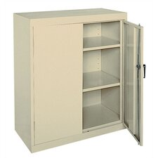 <strong>Sandusky Cabinets</strong> Easy Assemble Counter Height Cabinet
