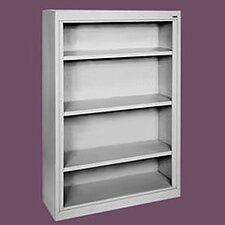 "52"" H Deep Four Shelf Bookcase"