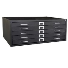 Cabinets with 5 Drawer Flat File