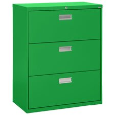 3-Drawer  File