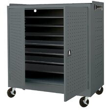 <strong>Sandusky Cabinets</strong> Mobile Laptop Security Cabinet with Charging System