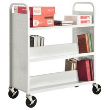 Combination Shelf Mobile Booktruck