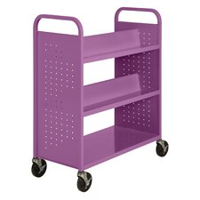 Combination Shelf Mobile Booktruck