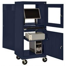 <strong>Sandusky Cabinets</strong> Mobile Computer Security Workstation