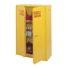 "65"" H x 43"" W x 18"" D Flammable Safety Cabinet"