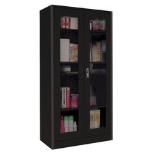 "Elite Radius Edge 36"" Clear View Storage Cabinet"