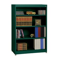 "Elite Radius Edge Stationary 52"" Bookcase"