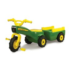 <strong>John Deere</strong> Trike and Wagon Set
