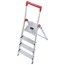 259cm L50 Aluminium Safety Household Ladder with Red Fracture-Proof