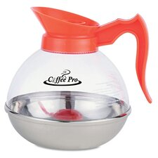 Coffee Pro Unbreakable Decaffeinated Coffee Decanter