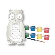 Paint Your Own Garden Owl