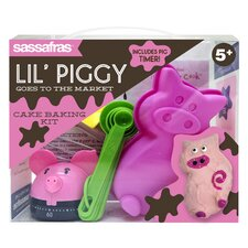 Kid's Baking Kits Lil Piggy Goes To The Market Kit