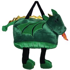 <strong>Sassafras</strong> Kid's Plush Bags Dragon Magical Tote Bag