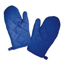 The Little Cook Blue Oven Mitts