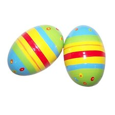 Kid's Striped Shaker Eggs