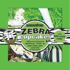 Zebra Cupcake Kit