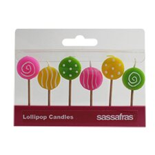 Lollipop Party Candle