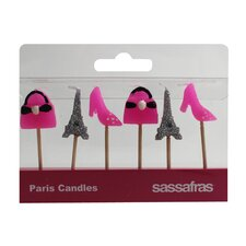 Paris Party Candle