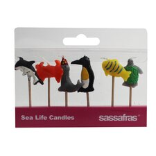 Sea Life Party Candle